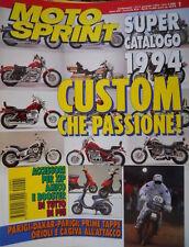 Motosprint 1 1994 Parigi Dakar: 1° tappe Orioli e Cagiva all'attacco.Catalogo 94