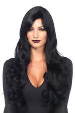 Glamorous Rockstar Mermaid Model Long Wavy Costume Wig