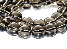 Semi Precious Smokey Quartz Crystal Gemstone Round Beads Gem Stones 4 mm 6 mm 8 mm