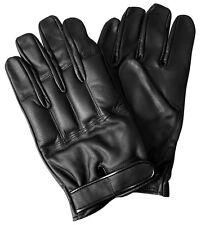 1 Paar CI Security Defender Quarzsand Handschuhe Lederhandschuhe Schwarz S-XXL