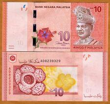 Malaysia, 10 Ringgit, ND ( 2012), P-53, UNC
