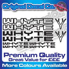 Premium Quality Whyte Bike Decals Stickers mountain bike frame mtb