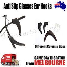 2 Pairs Anti Slip Glasses Ear Hooks Tip Eyeglasses Grip Temple Holder Silicone