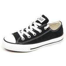 E4024 sneaker bimbo nero CONVERSE ALL STAR scarpe shoe kid unisex