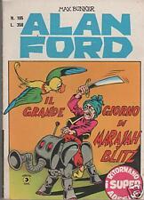 ALAN FORD #105 IL GRAN GIORNO DI MARAJAH BLITZ(adesivi)