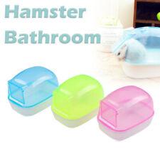 Dust-proof Play Mini Pet Sand Bath Box Hamster Bathroom Bathtub with Door