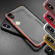 Apple iPhone X Schutz Hülle transparent Premium TPU Silikon Case Schutz Tasche