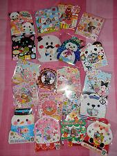 KAWAII STICKER PACKS! - Various Designs - Cute Animals!
