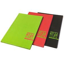 A4 Spectre NoteBook Smart Design Hardcover Feint Margin Quality Paper Notes