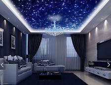 3D Viele leuchtende Sterne  Fototapeten Wandbild Fototapete BildTapete FamilieDE