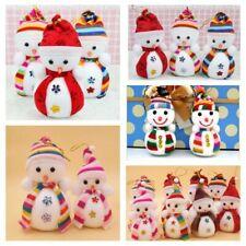 Year Hanging Decorations Snowman Doll Santa Claus Plush Toy Christmas Pendant