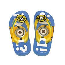 Minion flip-flops blue yellow seaside pool home various size