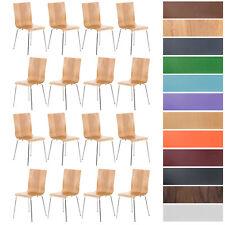 Set 16 Chaises de cuisine PEPE chaise de visiteur ou de conférence en bois