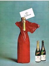 PUBLICITE ADVERTISING 1965 KRITTER vins méthode champenoise