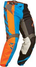 Fly Racing Black/Blue/Orange Mens & Youth Kinetic Division Race Dirt Bike Pants