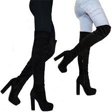 Stivali da donna senza marca scamosciato | Acquisti Online