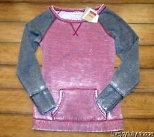 REEBOK ~ New! NWT S or L ~ Studio Favorite GARMENT WASH Baseball Sweatshirt