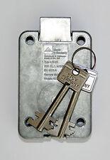 Tresorschloss / Waffenschrank Doppelbartschloss STUV 4.19.92 mit zwei Schlüssel