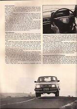 Wheels Apr 80 323i Volvo 242 Saab 900 A9X VC Commodore  News: -Vovlo 262c