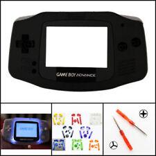 Nintendo Game Boy Advance GBA Front Light Frontlight AGS-001 Full Mod Kit Black
