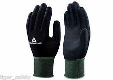 X5 paires Delta Plus Venitex VV702NO Hestia noir polyamide tricoté gants de travail
