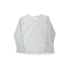 Zara girl  tee-shirt dentelle manches longues  9/10 ans