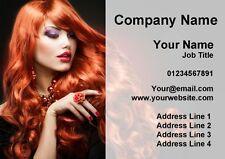 PARRUCCHIERE CAPELLI o Nail Salon personalizzata business cards