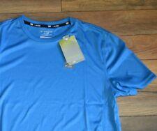 Tek Gear Performance Short Sleeve Top The Drytek Tee Blue Mens Training Shirt