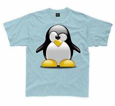 Cartoon Penguin Children's Kid's Unisex T Shirt