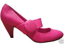 High Heels Pumps Schuhe pink hellblau Rock Slipper 38 39 40 Neu