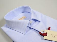 Camicia Regent by Pancaldi Regular Fit Celeste Cotone operato collo Italiano