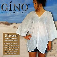 Neu Blusen gecrasht Baumwolle (100%), Shirt, kurzer Arm, Freizeit, Gino-fashion