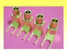 Banana spina / cavo per Spade Terminal Converter / ADATTATORI Set di 8