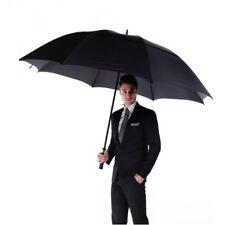 59-Inch Oversize Canopy Men Windproof Rain Golf Concierge Umbrella Auto Open NEW