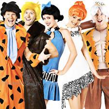 The Flintstones Adults Fancy Dress Cavemen 1960s Ladies Mens Costumes Outfits