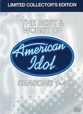 American Idol - The Best And Worst of American Idol Seasons 1-4  - 3-Disc DVD