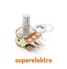 Potentiometer Service 63256-02400-4007//B50K Dreh-Potentiometer 1-Gang Stereo 0.2