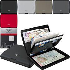 TRU VIRTU Silk Aluminium Börse Brieftasche Wallet, RFID NFC Geldbörse Etui Case