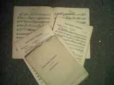 salon orchestra parts SUIT BALLET MODERNE Jose Armandola