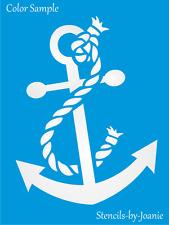 Joanie Stencil Boat Anchor Rope Nautical Beach Ocean Coast Love Ship Sea Shape