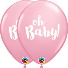 Oh Bébé ! rose fête fille ballons en latex qualité hélium Baptême Anniversaire