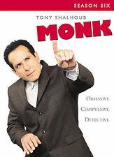 Monk - Season 6 (DVD, 2008, 4-Disc Set)