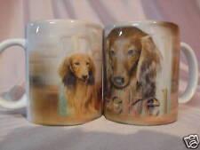 Tasse / Mug - motif chien  TECKEL POIL LONG