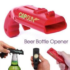 Beer Gun Bottle Opener Launcher Drinking Game Cap Plastic Shooter for Party