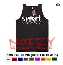 Spirit Filled #2 Christian TANK TOP Jesus Religious Black Shirt Cross Rock Metal
