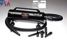 Metro Master Blaster-MB-3CD-220V- Dog-Pet Grooming/Motorcycle Dryer- 5 Piece Kit