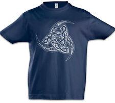 Odhins Horns Ornaments Boys T-Shirt Valhalla Thor Odin Viking Vikings Valhall