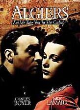 Algiers (DVD, 2004) Charles Boyer & Hedy Lamar Brand New DVD Mint