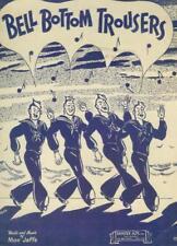 Sheet Music Bell Bottom Trousers Navy Moe Jaffe 1944