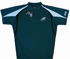 Philadelphia Eagles Mens Moist Management Polo Shirt Green Big & Tall Sizes NWT